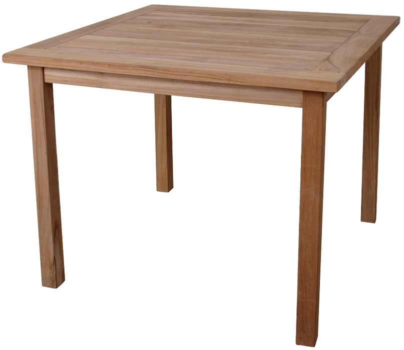 Muebles de madera para exterior promobili - Mesa madera exterior ...